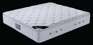 Pillow Topper Latex Foam Pocket Spring Mattress (P305) pictures & photos