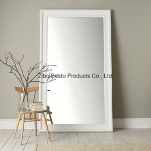 Large White Full Length Floor Free Standing Mirror for Sale pictures & photos