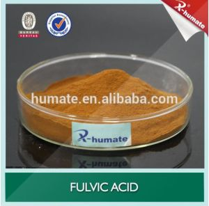 100% Water Soluble Fulvic Acid 80%Min Powder Organic Fertilizer pictures & photos