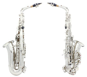 Top Grade Gold&Silver&Nickle Plated Eb Alto Sax Saxophone (WSS-896)