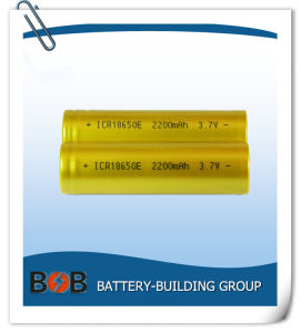 18650 2200mAh Lithium Battery Cell pictures & photos