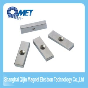 Permanent Block Motor NdFeB Magnet with Hole