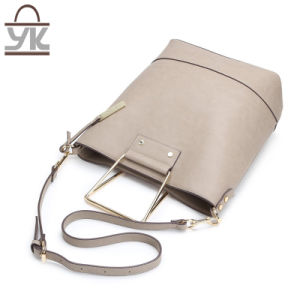 Wholesale Supply Fashion PU Ladies Bucket Handbag pictures & photos