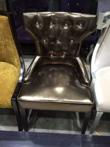 Chair/Wing Chair/Restaurant Chair/Foshan Hotel Chair/Solid Wood Frame Chair/Dining Chair (NCHC-028) pictures & photos