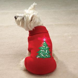 Dog Sweater Christmas Clothing Dog Clothing Pet Sweater Pet Clothes Puppy Pet Cat Dog Sweater Knitted Coat Apparel Clothes