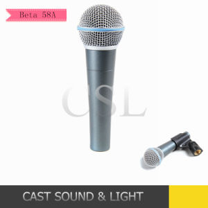 Beta58A Dynamic Vocal Style Wired Microphone pictures & photos