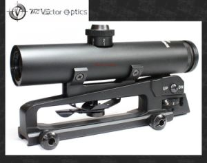 Vector Optics Tactical 4X22 Carry Handle Ar M16 Weapon Rifle Scope Shock Proof Electro Gun Sight pictures & photos
