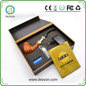 2014 New Generation DTC Clearomizer Wooden Material Ecig E-Pipe