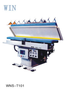 High Efficiency Touch Screen Auto Suit Press Machine (Two Trouser Legs) with Super Ironing Effect