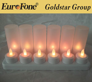 LED Flameless Pillar Candle/LED Tea Light Candle/Home Candle Light pictures & photos