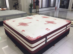 Soft Fire Retardant Memory Foam Hotel Bed Latex Mattress