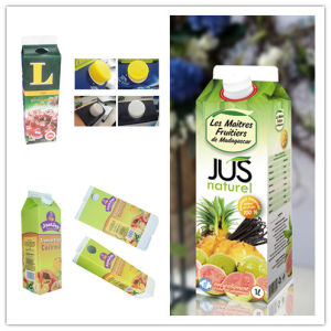 1000ml 6 Layers Gable Top Paper Box for Fresh Juice pictures & photos