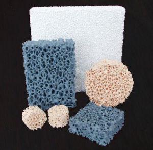 Sic/Alumina/Zirconia Ceramic Foam Filters for Iron Casting pictures & photos