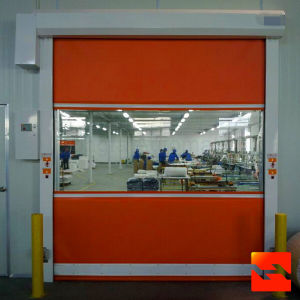 Aluminum Alloy Bottom Bars for High Speed Rolling Doors (HF-1065) pictures & photos