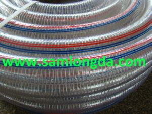 PVC Spiral Steel Wire Hose with High Quality pictures & photos