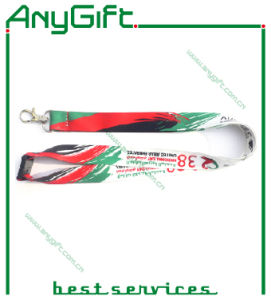 Woven Lanyard with Customized Logo and Color (LAG-LY-02) pictures & photos