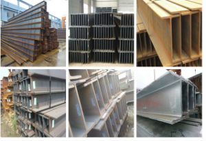 Good Quality Hot Dipped Galvanized Welded H Beam Steel (H-008) pictures & photos