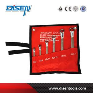 ANSI 6PS (6-17mm) Mirror Chrome Plated Box End Wrench