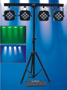 4 Head 9X3w RGB LED Bar PAR Light Stage PAR Lighting pictures & photos