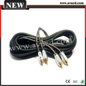 Factory High Quality RCA Signal Cable Interconnect (R-009)