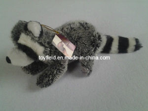 Country Dog Real Life Squeaky Racoon Pet Toy pictures & photos