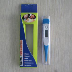 Home Flexible Thermometer Waterproof Digital Thermometer with Flexible Probe (SC-DT001) pictures & photos