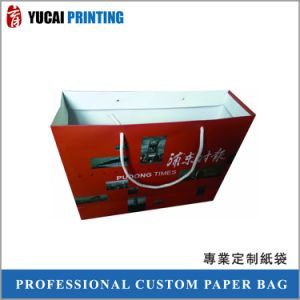 Coated Paper Bag Red Bag Shopping Bag pictures & photos
