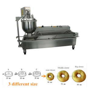 Automatic Professional Stainless Steel Used Donut Machine pictures & photos