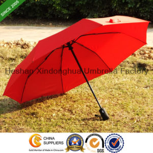 High Quality Three Fold Automatic Promotion Gift Umbrellas (FU-3821BAF) pictures & photos