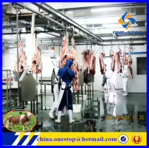 Production Line Slaughter House Abattoir Machinery/Halal Cattle Equipment Abattoir Process Line pictures & photos