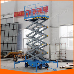 Hydraulic Electric Mobile Scissor Aerial Working Platform pictures & photos