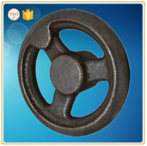 Casting Steel Sand Casting Auto Part Handwheel pictures & photos