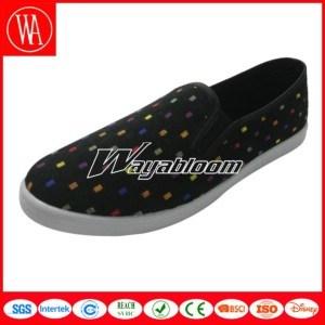 Leisure Flat Shoe Plain Casual Shoes for Women pictures & photos