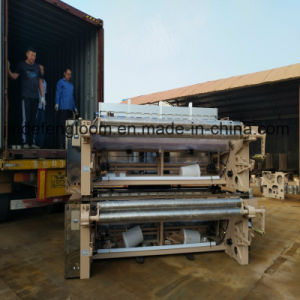 190cm Cam Water Jet Loom with Double Nozzle Weft Feeder pictures & photos