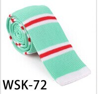 New Design Fashion Polyester/Silk Knitted Tie (WSK-72) pictures & photos