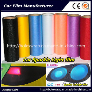 Sparkle Headligh Film/Tail Light Tint Tail Lamp Film 0.3*9m pictures & photos