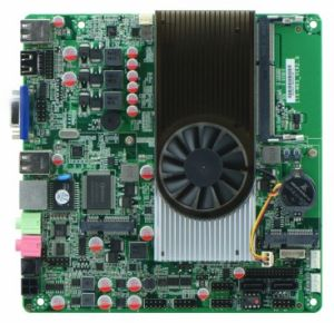 Mini-Itx Motherboard with AMD N330 Dual Core 2.3 GHz pictures & photos