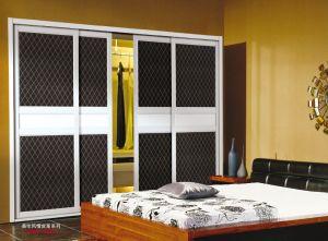 PVC Series Wardrobe Sliding Door (yg-001) pictures & photos
