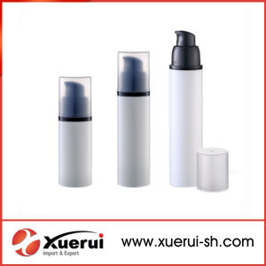 Clear Empty Cosmetic Packaging Plastic Airless Bottle pictures & photos
