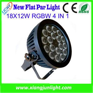 18 X 12W RGBW 4 in 1 Flat LED PAR Light pictures & photos