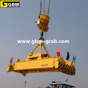 Full Automatic Hydraulic Telescopic Container Lifter pictures & photos