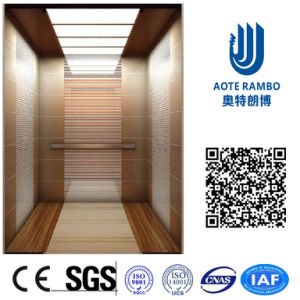AC Vvvf Gearless Drive Passenger Elevator Without Machine Room (RLS-257) pictures & photos