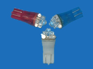 Colored LED Auto Lights with T12-4LED