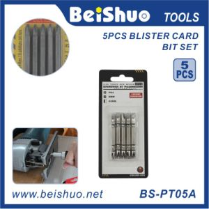 High Power&New Design 5PC Bit Set with Blister Card pictures & photos