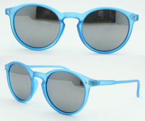 Custom Plastic Sunglasses, 2017 Fashion Round Shape Sunglasses (PS589) pictures & photos