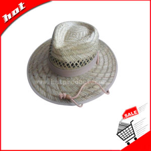 Straw Rush Straw Hat Hollow Straw Hat pictures & photos