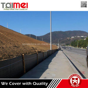 Eco Friendly PP Woven Silt Barrier Fence pictures & photos