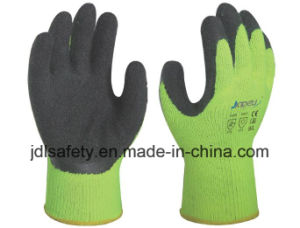 Ce Approved Latex Work Glove of High Visibility (LY2026) pictures & photos