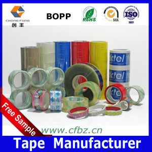 (ISO9001. SGS) Transparent Water Based Acrylic BOPP Adhesive Cellotape