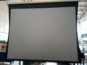 Tab Tension Electrical Projector Screen (dhttps-018)